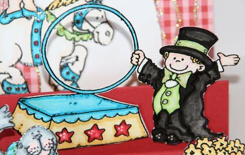 Circus Step Card 2