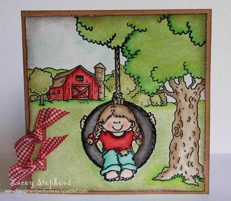 Swinging on the farm_Lacey