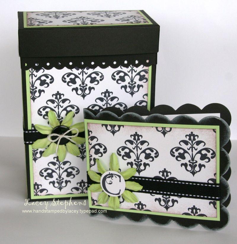 Damask Gift Box 2