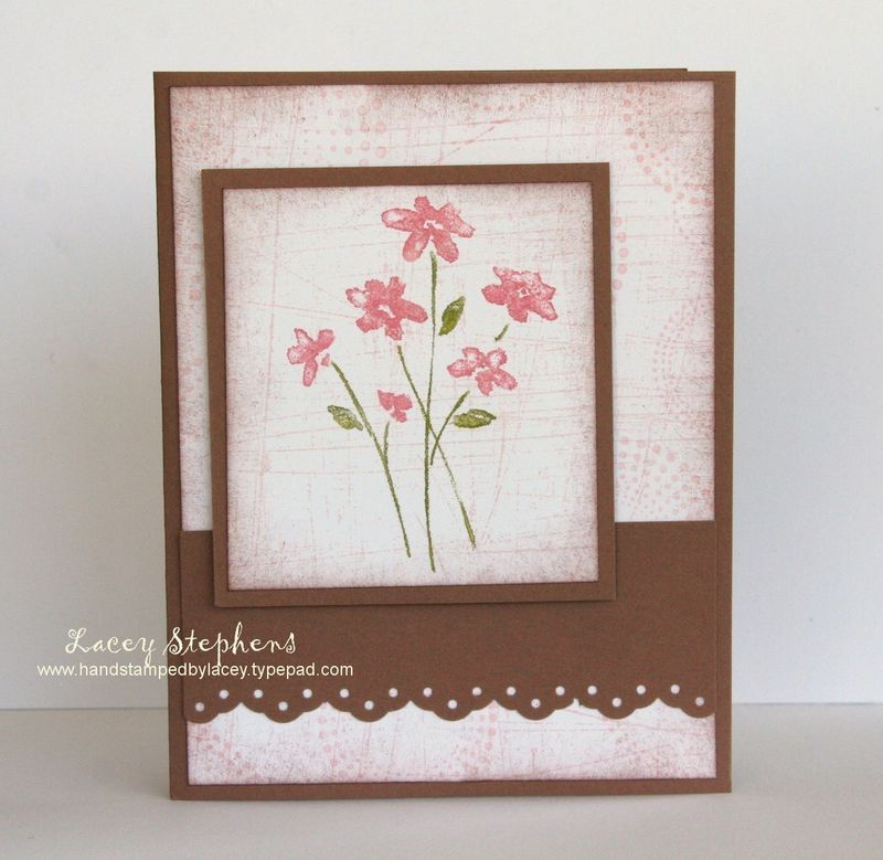 stampin up cards. The flower is from Stampin#39; Up