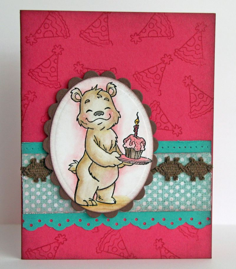 Bruno Bear Birthday