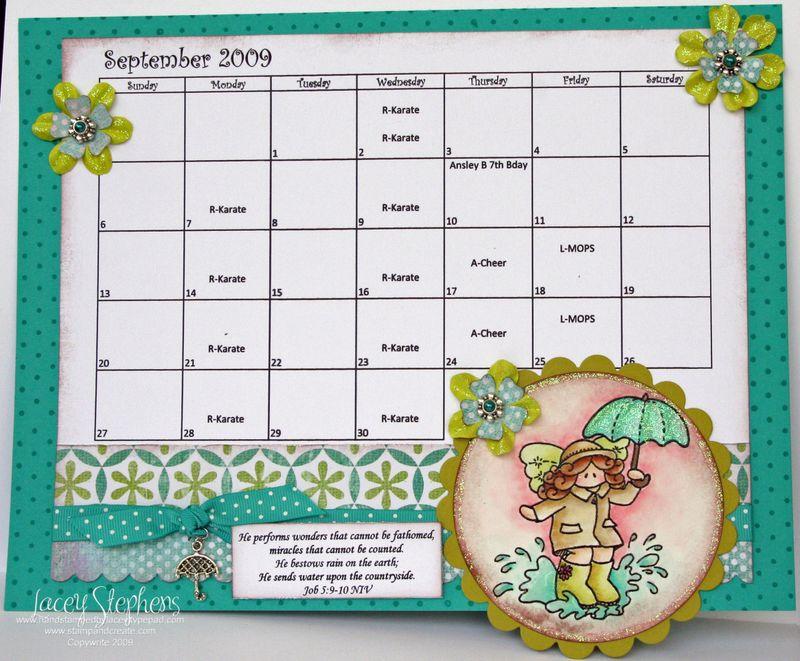 September Calender 1