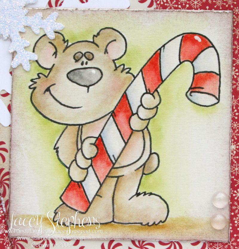 Candycane Bear 2