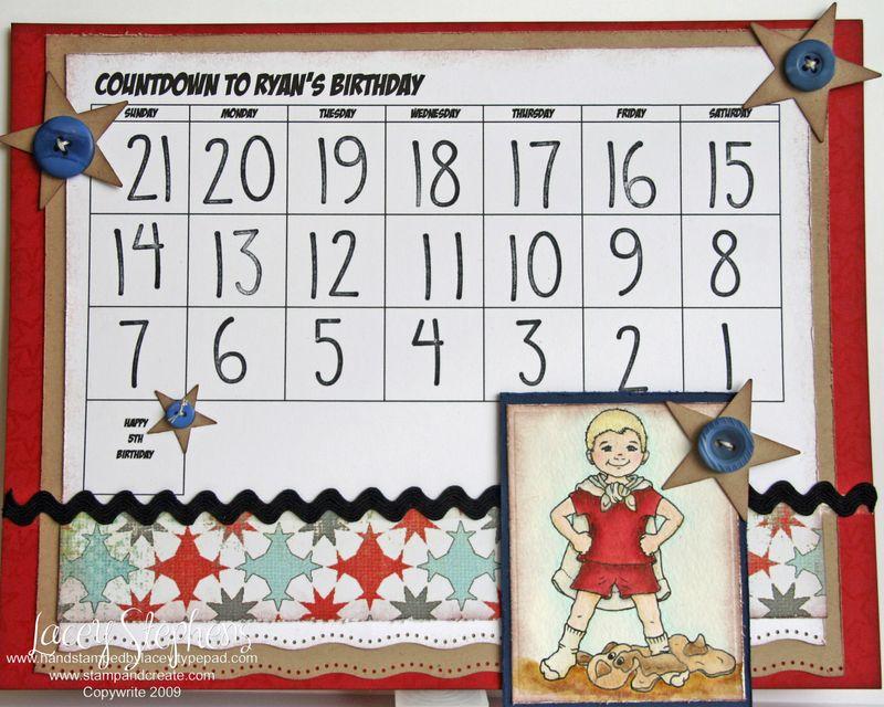 Ryan Birthday Countdown 1