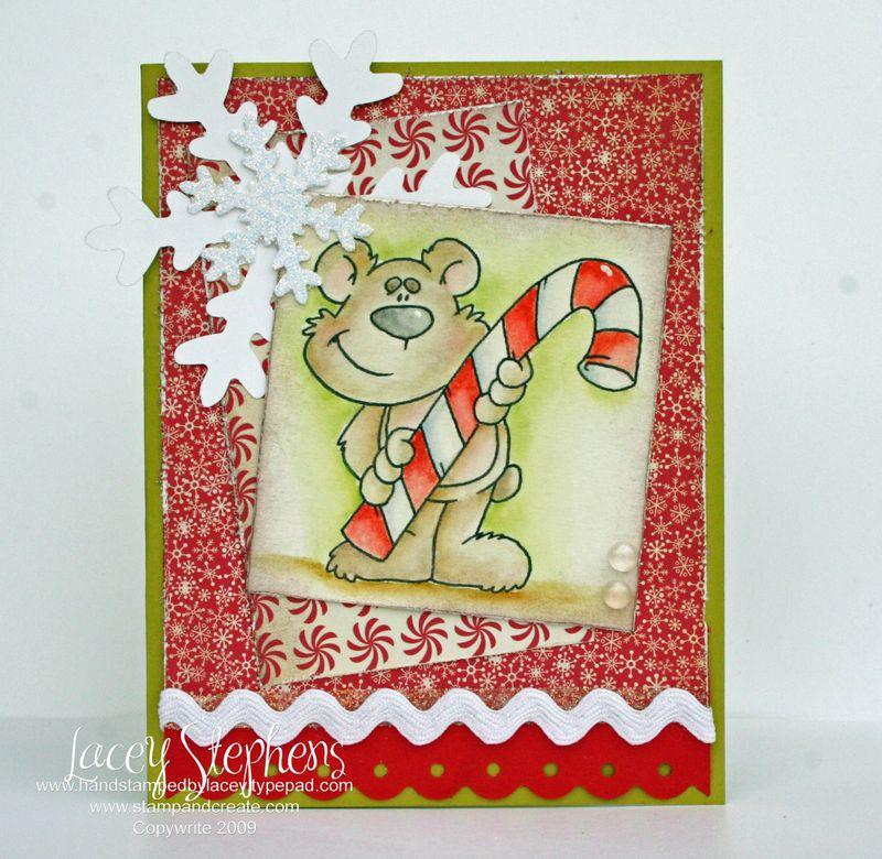 Candycane Bear 1