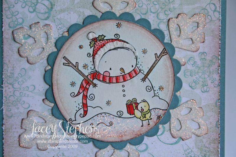 Snowman Friday Sketcher 2