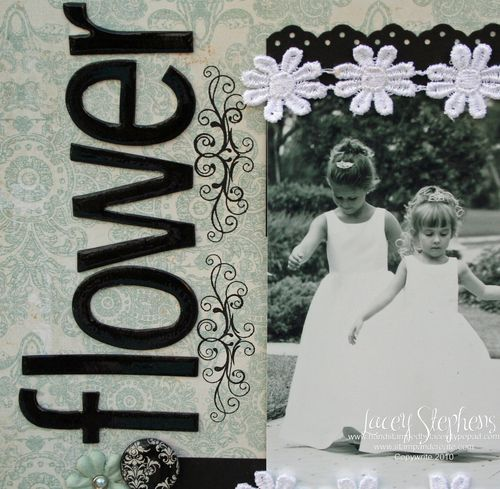 Flower Girls_Monochromatic_Lacey6