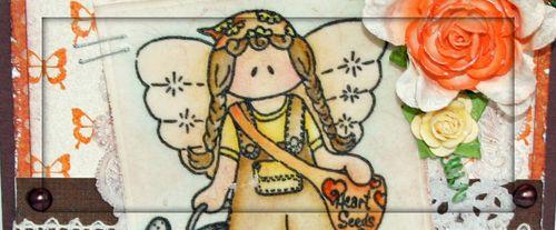 Bethany Angel_Orange Brown Circle_Lacey 2