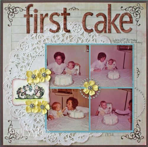 About Me_Lacey_First Cake 1