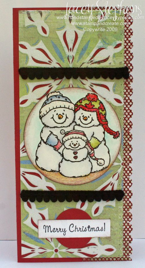 Snow Family_Tall Card 1