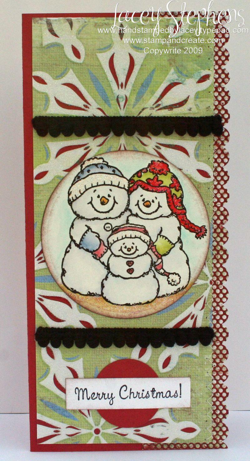Snow Family_Tall Card 1