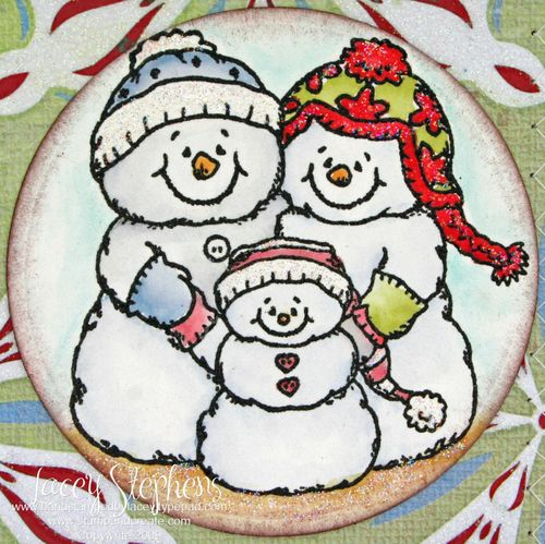 Snow Family_Tall Card 2