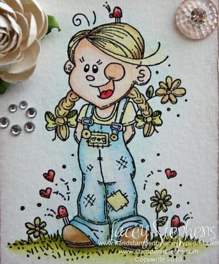 Girl with Overalls_Lacey_Hop 3