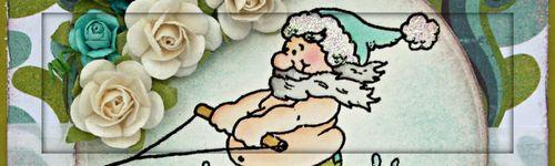 Skiing Santa_S_Lacey 1