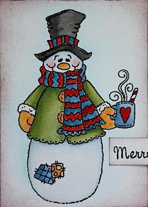 Cuppa snowman 3