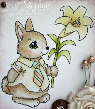 Spring Bunny_Distress_Lacey 3