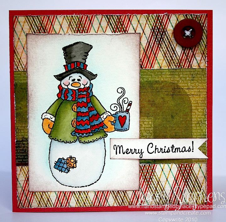 Cuppa snowman 1