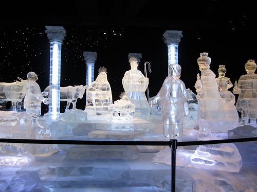 Gaylord Ice Nativity
