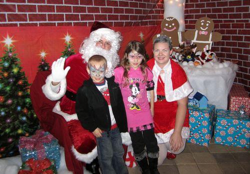 Santa in Orlando 2010