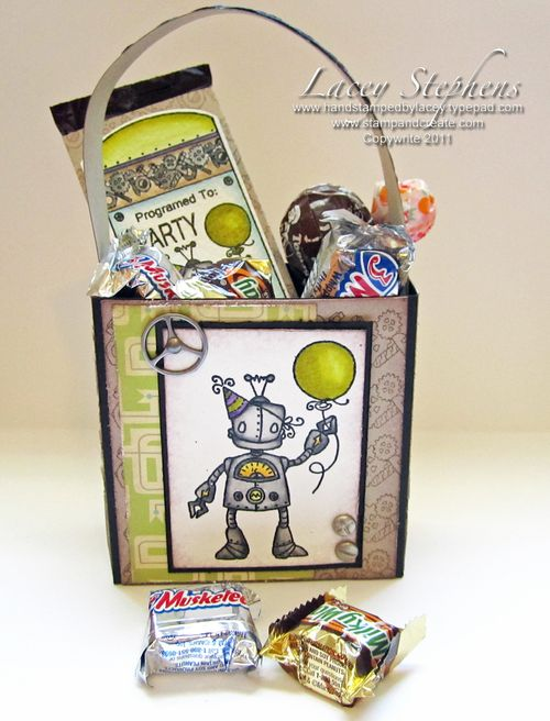 Robot Party Set Bag
