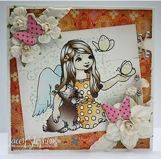 Angel Whispers Digital Coloring