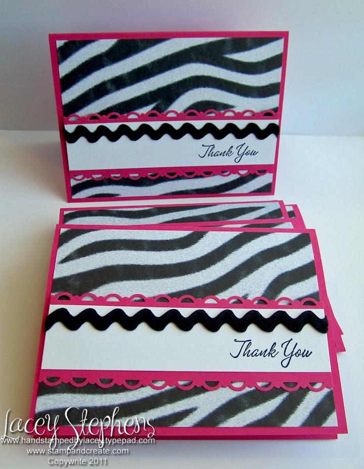 Zebra Thank You 2