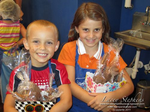 Ryan and Ansley Choc camp 2