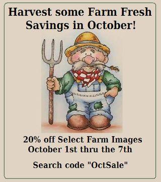 Farmer Clem Button Image