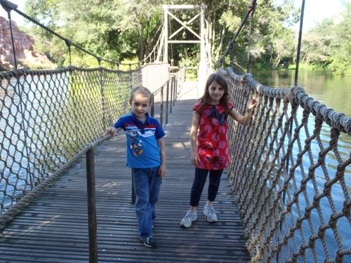Tom Sawyers bridge
