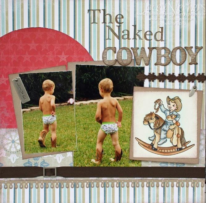 Naked Cowboy Ryan