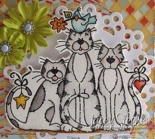 Cat Trio 3