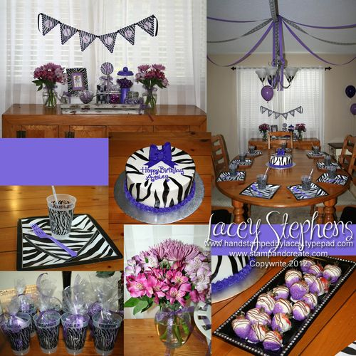 Purple Park Collage