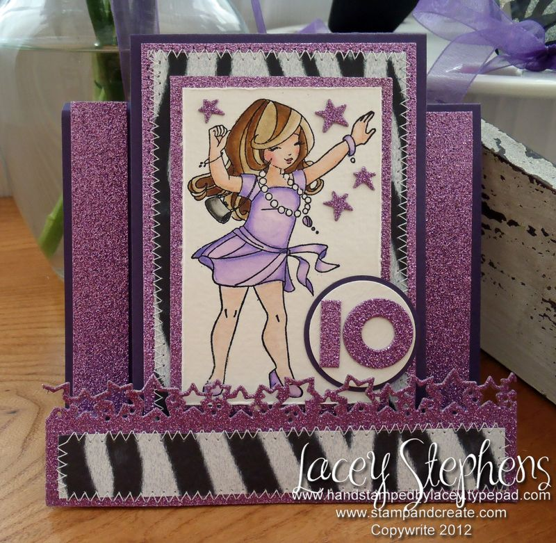 Dancing Willow Card