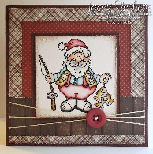 Fishing Santa 1
