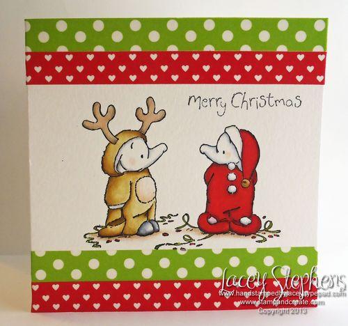 Santa and Rudolph 1