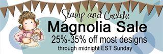 S&C Magnolia SALE Banner