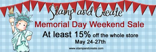 S&C Mem Day Sale Banner