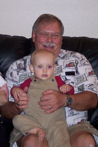 Dad and Ryan Xmas