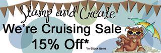 S&C 15% Cruise SALE Banner