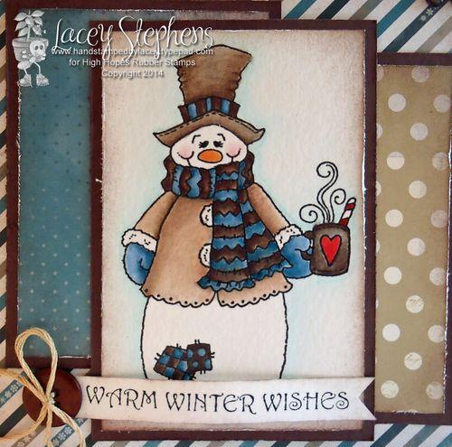 Snowman Cuppa 3