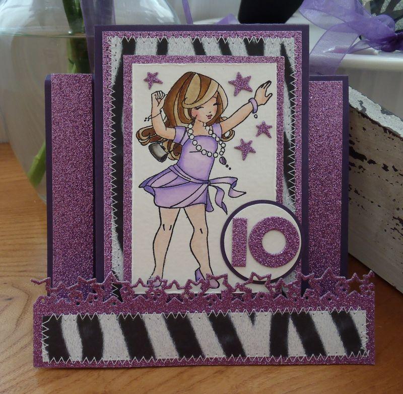 Dancing Willow Card